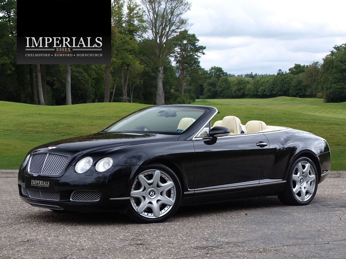 2008 Bentley  CONTINENTAL GTC  MULLINER CABRIOLET AUTO  32,948 For Sale (picture 1 of 24)