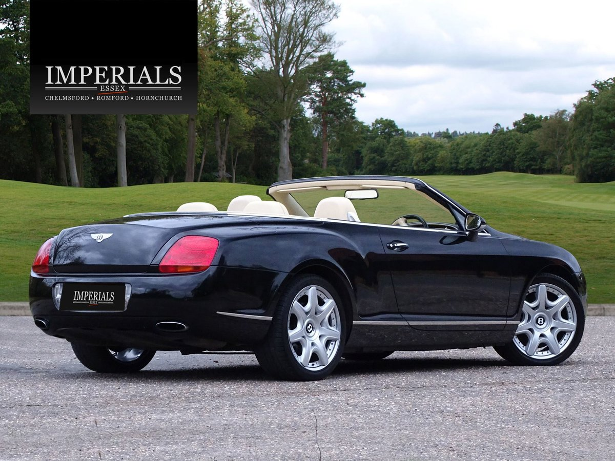 2008 Bentley  CONTINENTAL GTC  MULLINER CABRIOLET AUTO  32,948 For Sale (picture 4 of 24)