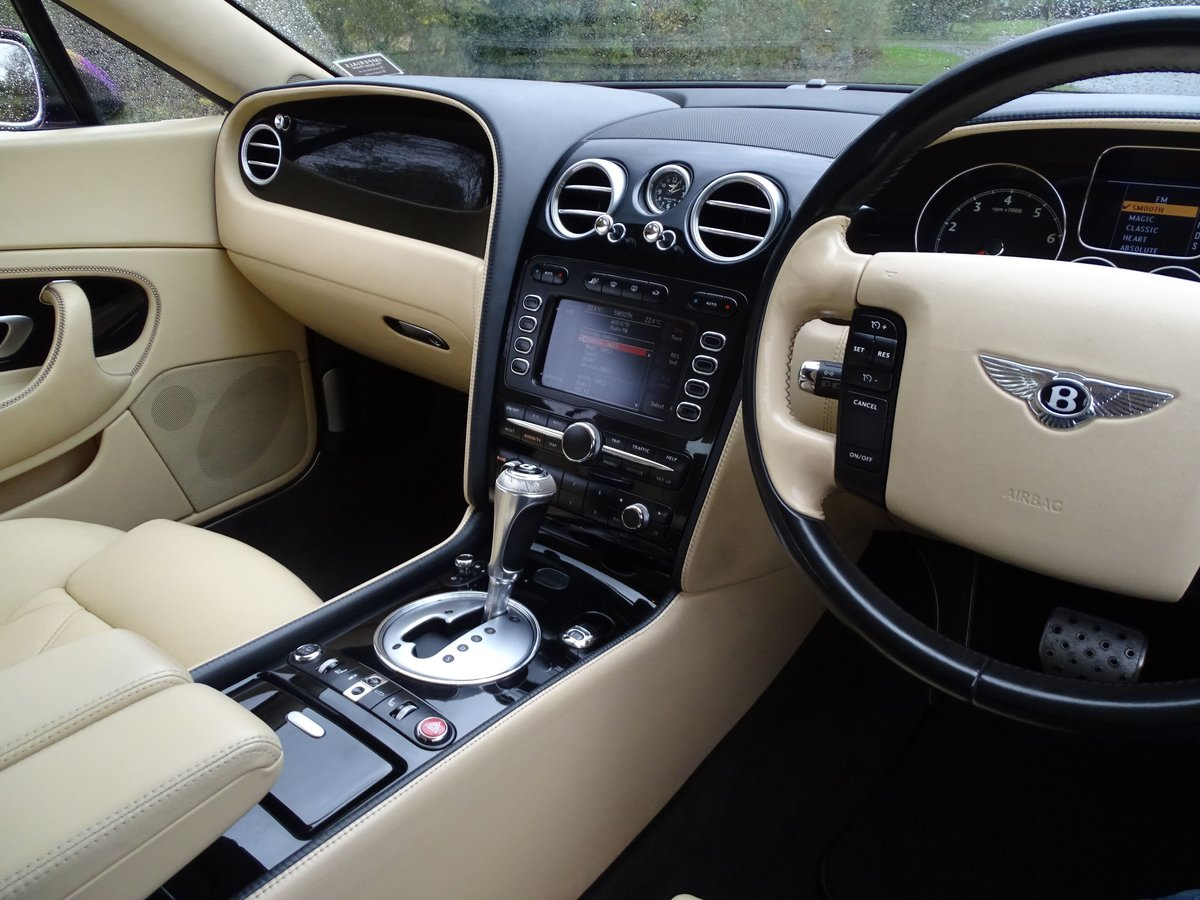 2008 Bentley  CONTINENTAL GTC  MULLINER CABRIOLET AUTO  32,948 For Sale (picture 7 of 24)