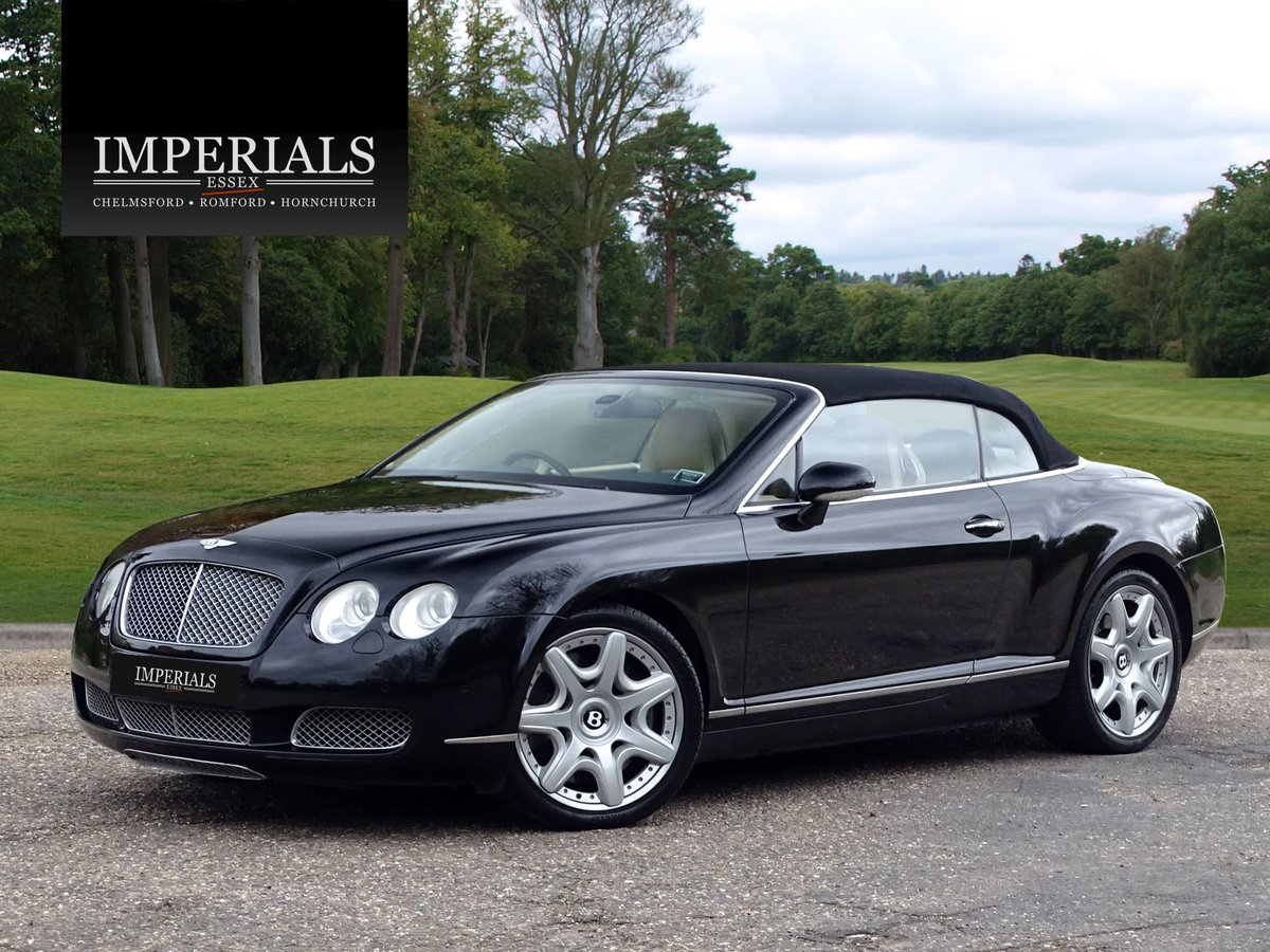 2008 Bentley  CONTINENTAL GTC  MULLINER CABRIOLET AUTO  32,948 For Sale (picture 23 of 24)