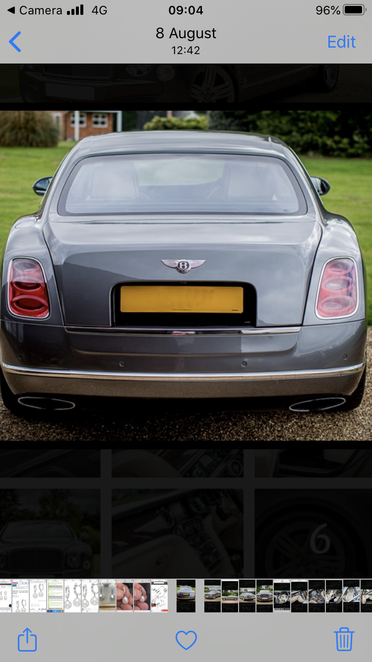 2012 Bentley Mulsanne For Sale (picture 2 of 6)
