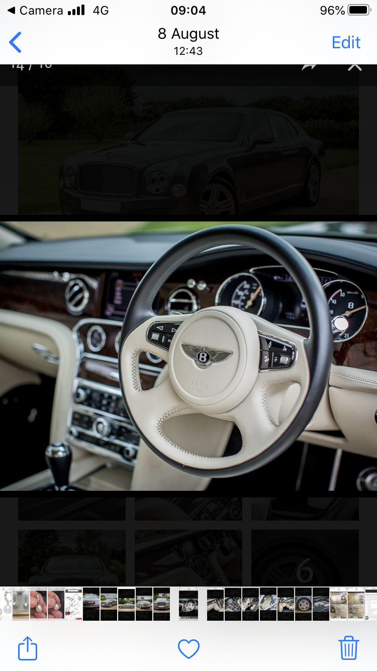 2012 Bentley Mulsanne For Sale (picture 5 of 6)