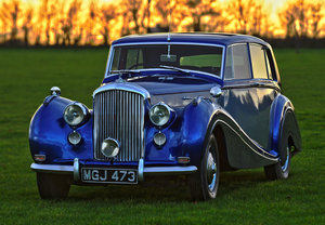 "1951 Bentley MKVI H.J.Mulliner ""lightweight"" Saloon For Sale"