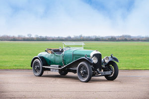 1928  BENTLEY 4½-LITRE VANDEN PLAS SPORTS TWO-SEATER & DICKEY
