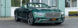 2019 Delivey miles First Edition Bentley GTC For Sale