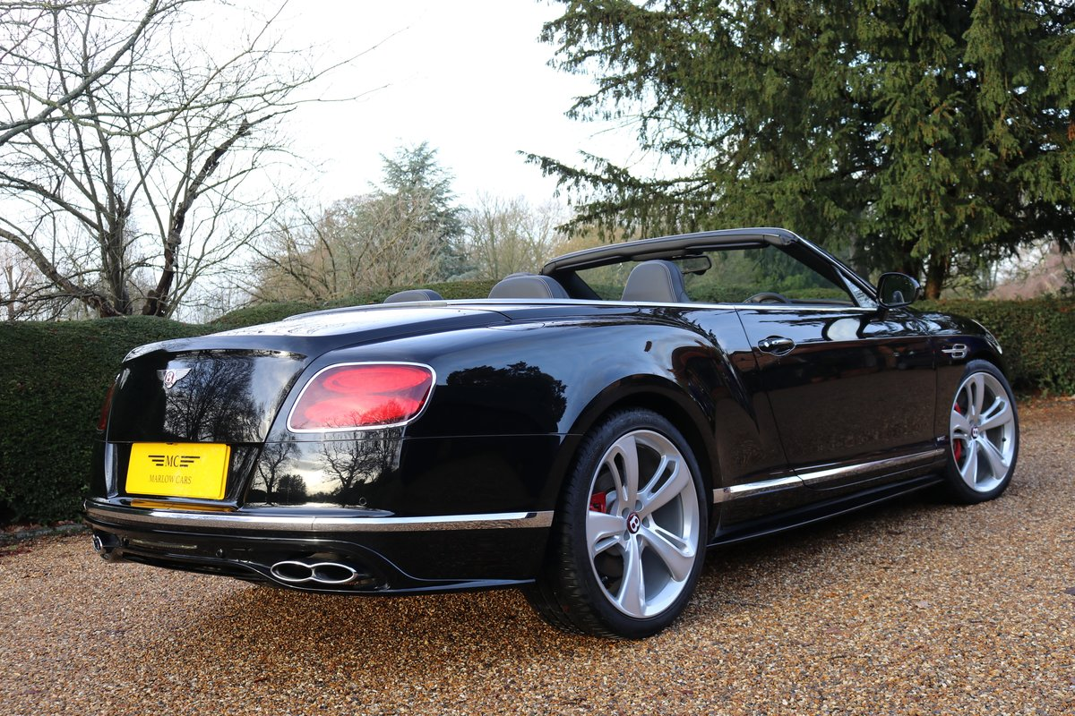 2017 BENTLEY GTC V8S For Sale (picture 3 of 6)