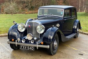 1939 Bentley  4¼ Litre Overdrive Hooper Sports Saloon B101MX For Sale