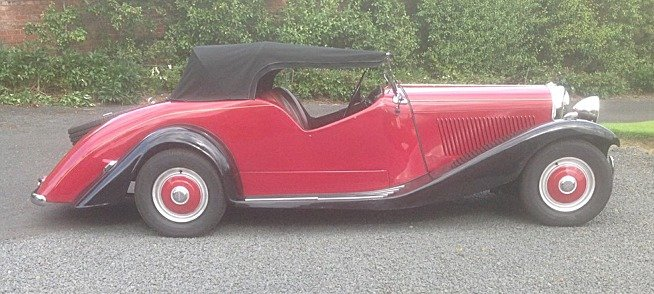 Stunning 1949 Bentley Special 4-seater by Alan Padgett For Sale (picture 2 of 6)