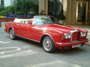 1984 Bentley Convertible