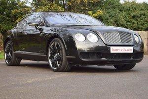 2006/56 Bentley Continental GT Mulliner in Diamond Black For Sale