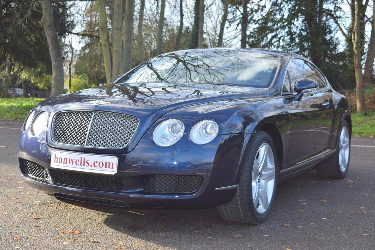 2004/54 Bentley Continental GT in Sapphire Blue For Sale (picture 1 of 6)