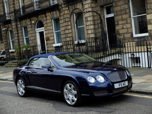 2008 BENTLEY CONTINENTAL 6.0 GTC - STUNNING - TOTAL BENT S/H ! SOLD