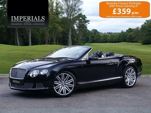 Bentley  CONTINENTAL GTC  MULLINER CABRIOLET 2012 MODEL AUTO For Sale