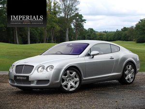 2006 Bentley  CONTINENTAL GT  MULLINER COUPE AUTO  21,948