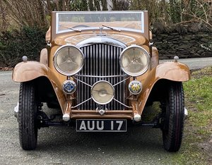 1933 Bentley 3½ Litre Barker Sporting Two Dr Drophead Coupe For Sale