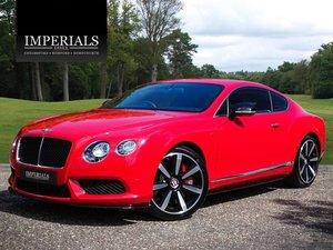 2014 Bentley  CONTINENTAL GT  4.0 V8 S MULLINER COUPE 2015 MODEL