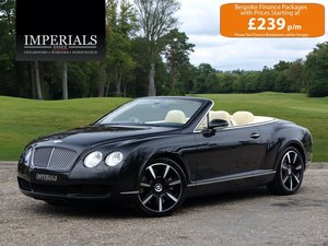 2008 Bentley  CONTINENTAL GTC  Cabriolet Auto  34,948 For Sale