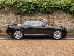 2008 Bentley  Continental GTC  Continental GTC - Mulliner Driving SOLD