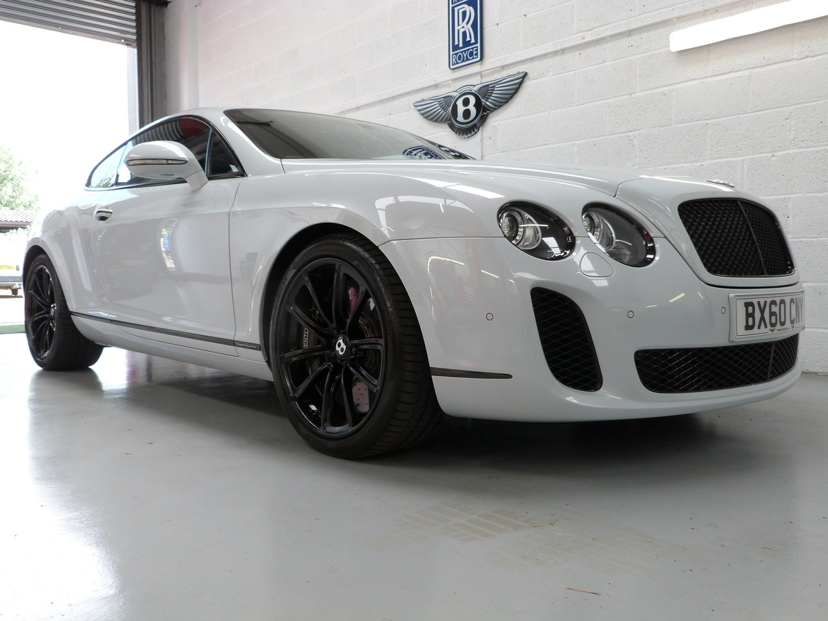 2010 Bentley Continental GT Supersport 6.0L W12  For Sale (picture 1 of 6)