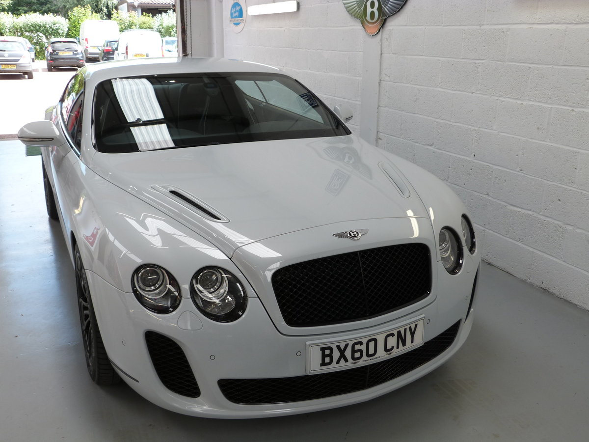 2010 Bentley Continental GT Supersport 6.0L W12  For Sale (picture 2 of 6)