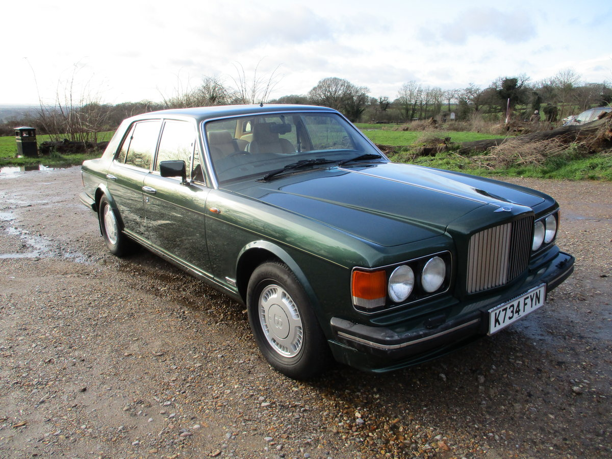 1993 Bentley Turbo R Floor Change mdl  74,400 Miles Stunning For Sale (picture 1 of 21)