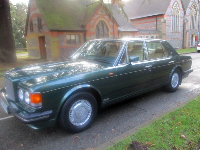 1993 Bentley Turbo R Floor Change mdl  74,400 Miles Stunning For Sale (picture 13 of 21)