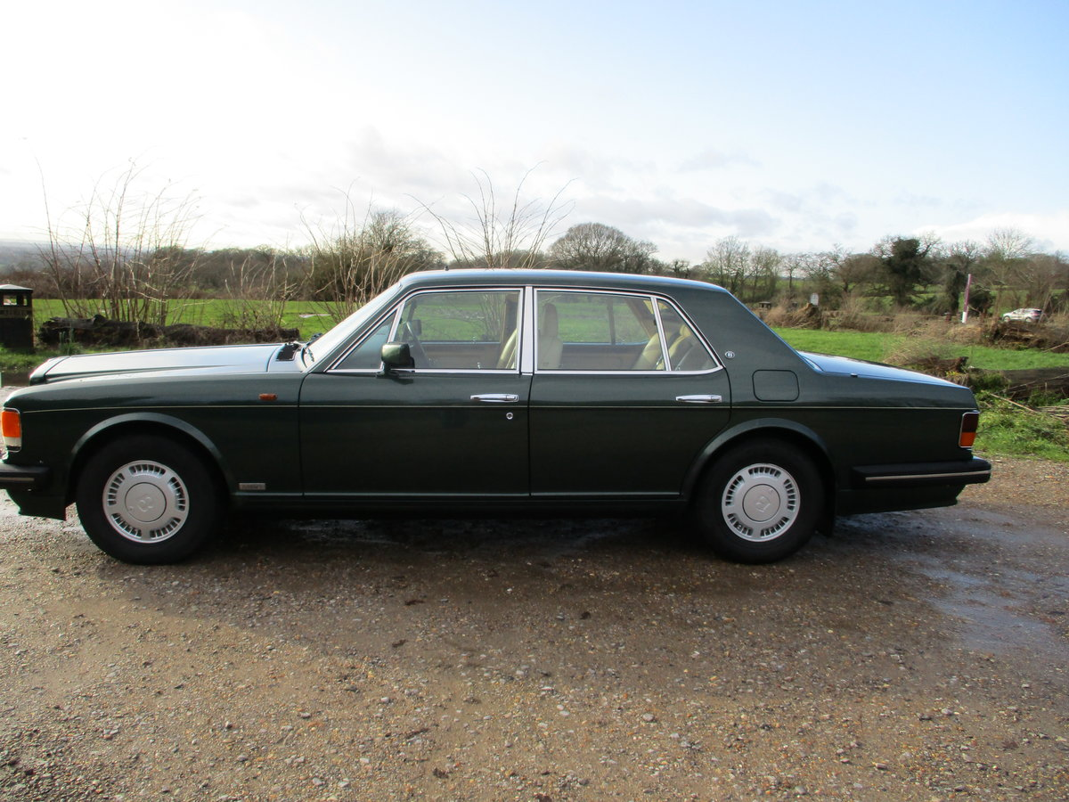 1993 Bentley Turbo R Floor Change mdl  74,400 Miles Stunning For Sale (picture 14 of 21)