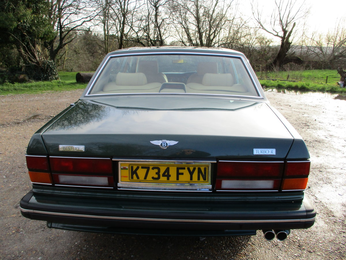 1993 Bentley Turbo R Floor Change mdl  74,400 Miles Stunning For Sale (picture 16 of 21)