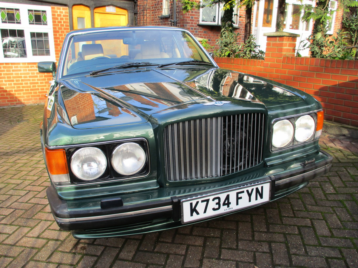 1993 Bentley Turbo R Floor Change mdl  74,400 Miles Stunning For Sale (picture 17 of 21)