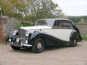 1951 Bentley Mk VI Aluminium Saloon by H J Mulliner