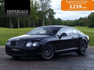 Bentley  CONTINENTAL GT  SPEED COUPE AUTO  41,948