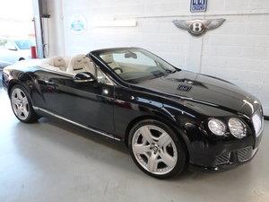 2012 Bentley Continental GTC  6.0L W12 Mulliner Driving Spec SOLD