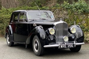 "1951 Bentley MK VI  ""Big Bore, Small Boot"" Saloon B386MD"