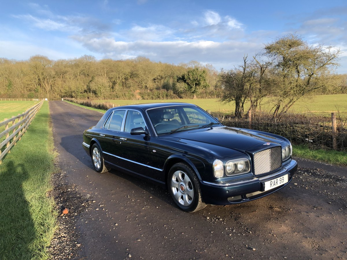 2000 Bentley Arnage Red Label 37,000 miles,  For Sale (picture 1 of 6)