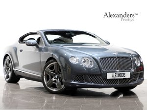 2011 11 11 BENTLEY CONTINENTAL GT W12 MULLINER DRIVING SPEC AUTO For Sale