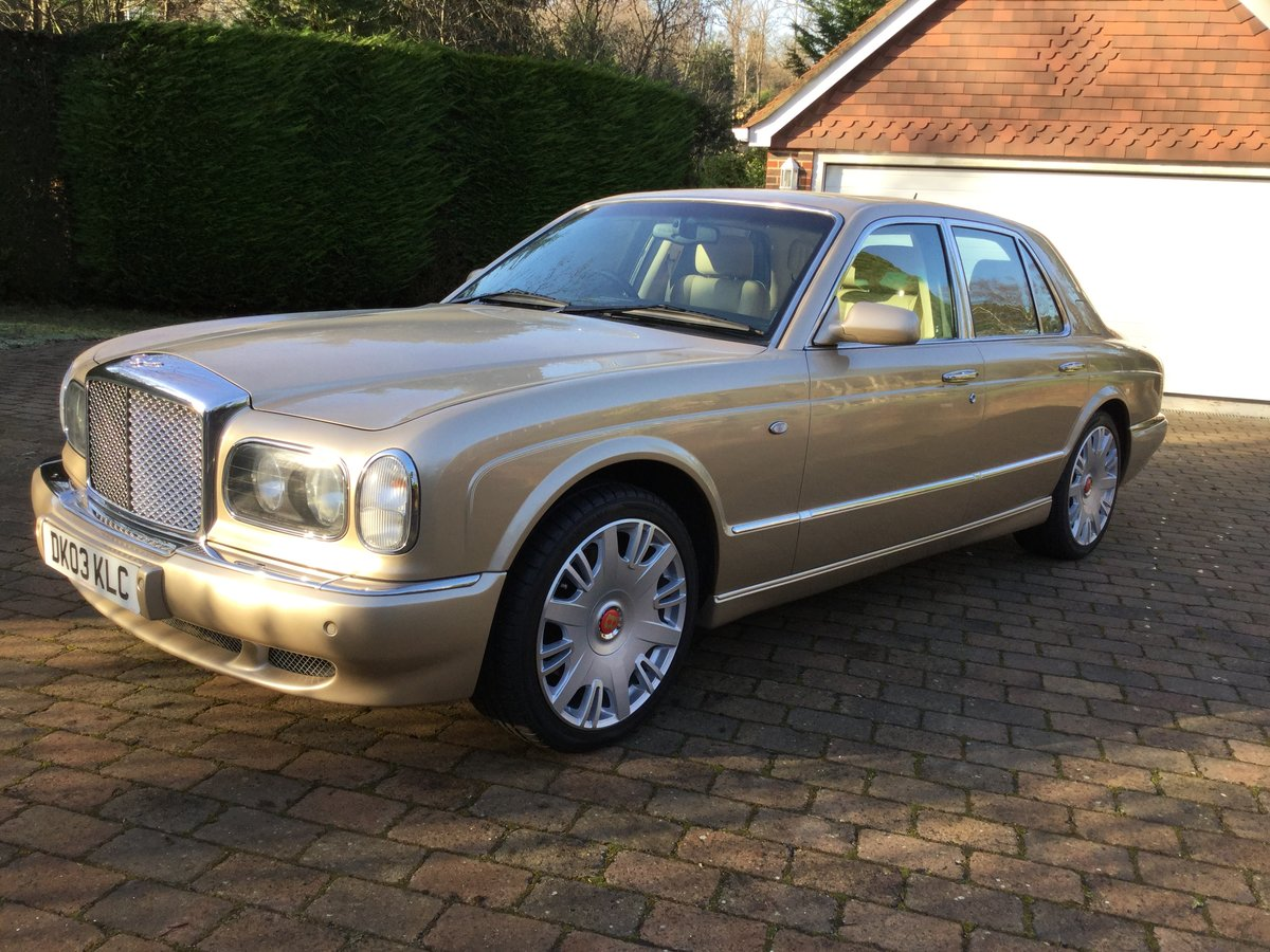 2003 Bentley Arnage R Auto only 50382 mls REDUCED AGAIN For Sale (picture 4 of 6)