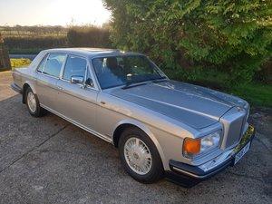 1987 Georgian Silver Bentley Turbo R