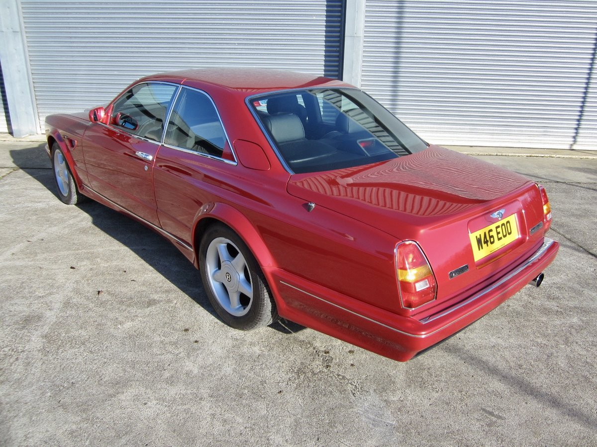 2000 Bentley Continental R Widebody By Mulliner For Sale (picture 4 of 6)