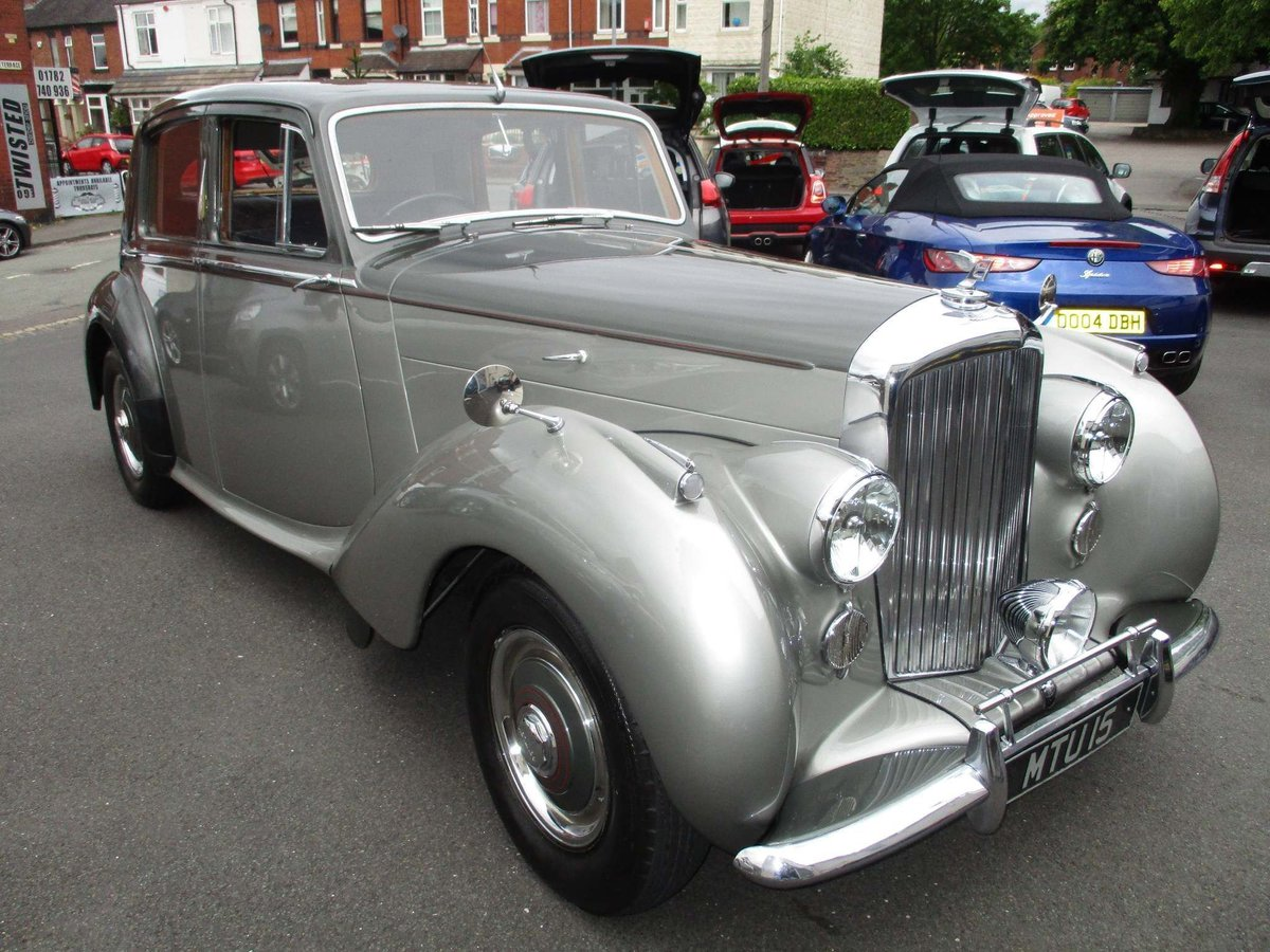 1950 Bentley Mk VI 4.25 Saloon.Beautiful.MOT 27/02/2021 SOLD (picture 1 of 6)