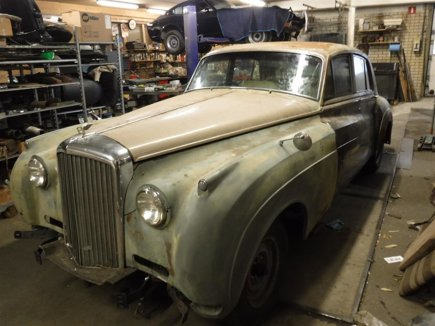 Bentley S1 1956 (to restore!) For Sale (picture 1 of 6)