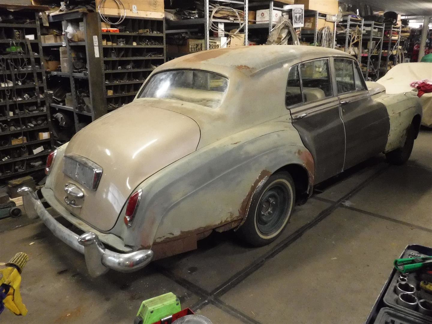 Bentley S1 1956 (to restore!) For Sale (picture 2 of 6)
