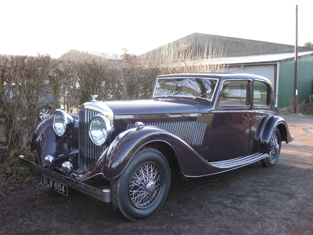 1937 Bentley 4.25 Pillarless Sports Saloon For Sale (picture 1 of 6)