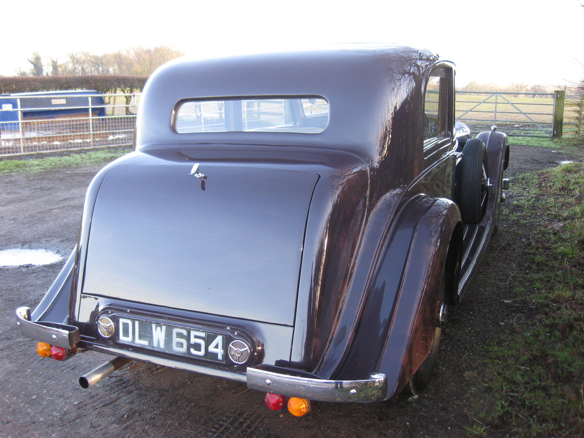 1937 Bentley 4.25 Pillarless Sports Saloon For Sale (picture 5 of 6)