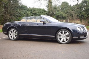 2007/07 Bentley Continental GTC in Dark Sapphire