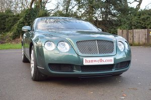 2004/04 Bentley Continental GT in Spruce Green Metallic For Sale