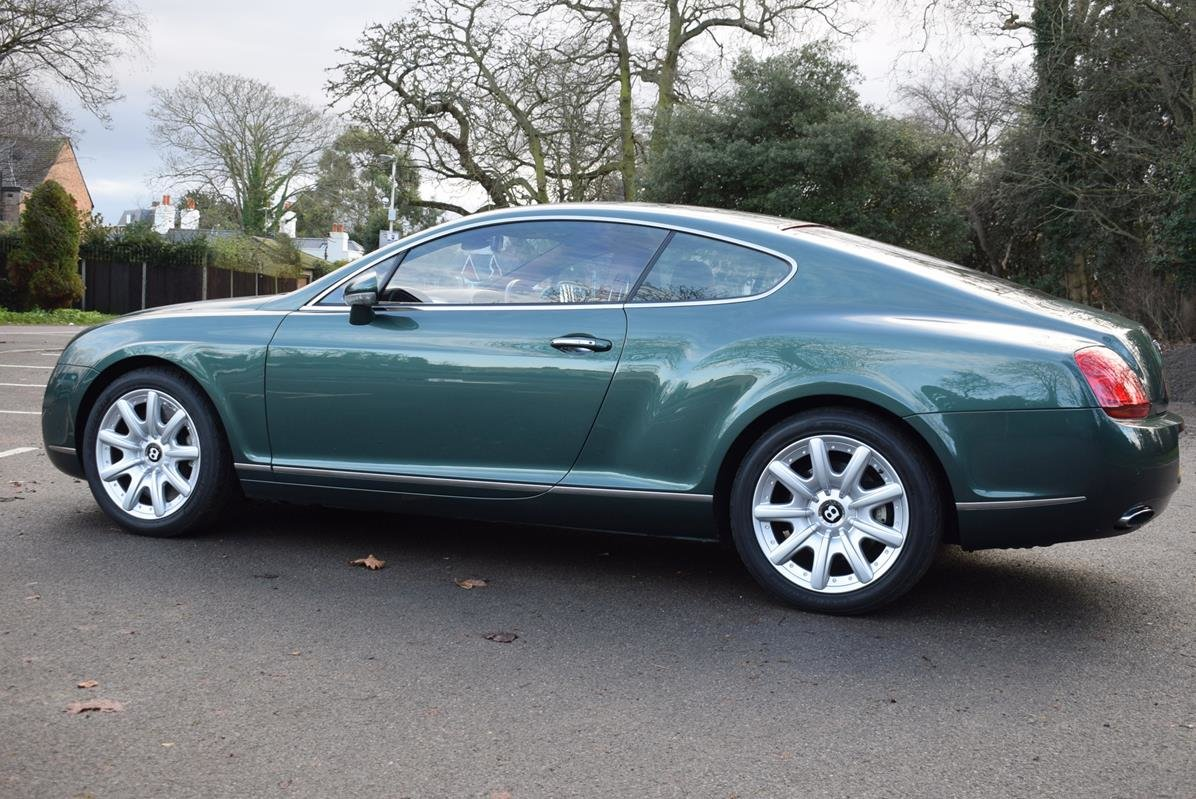 2004/04 Bentley Continental GT in Spruce Green Metallic For Sale (picture 4 of 6)