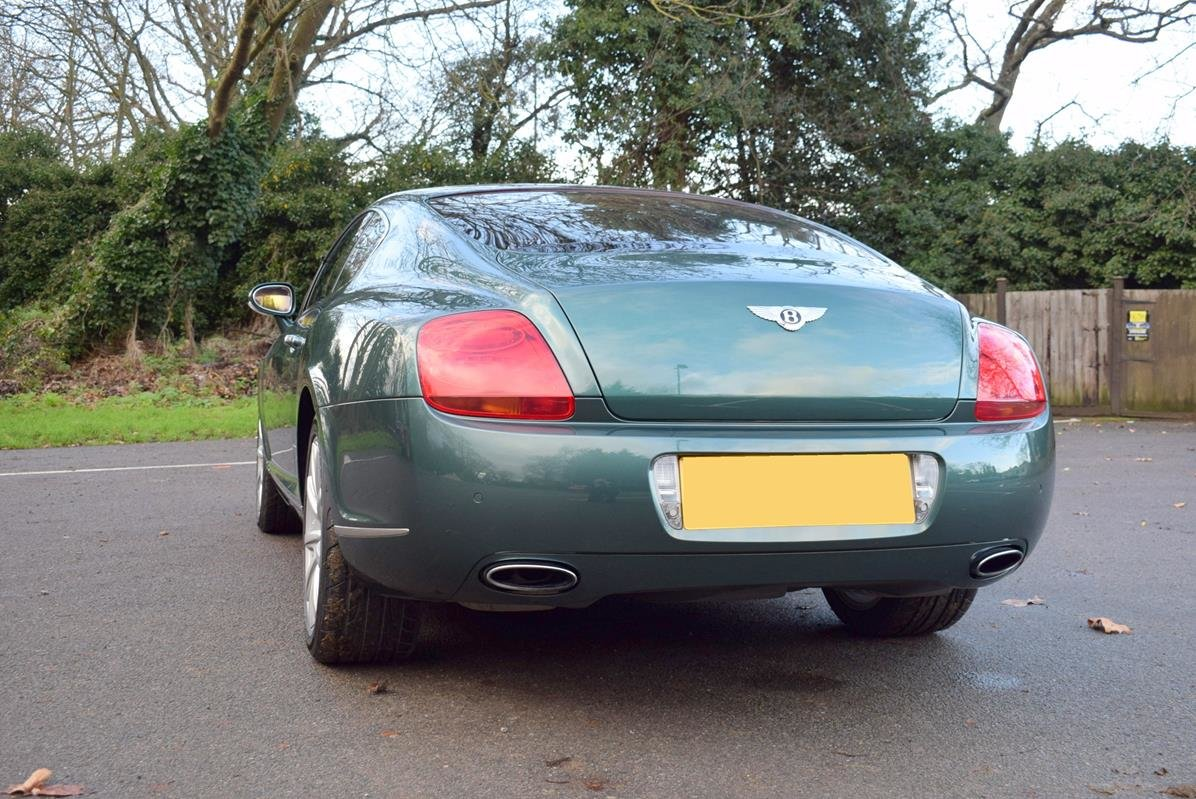 2004/04 Bentley Continental GT in Spruce Green Metallic For Sale (picture 5 of 6)