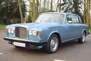 1981 X Bentley TII in Caribbean Blue For Sale