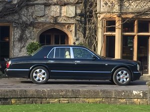 2000  Arnage Just serviced, new MOT, alloys refurbished For Sale