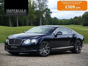 2013 Bentley  CONTINENTAL GT  SPEED COUPE 2014 MODEL AUTO  54,948